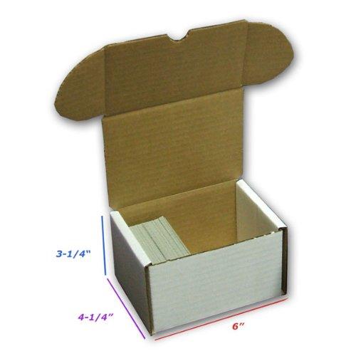 BCW Storage Box 330 Count (Quantity of 200) - Corrugated Cardboard Storage Box by BCW
