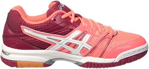 de Coral Rocket Cerise Chaussures Volleyball 7 Gel Femme White Orange Asics Flash PfzHnIwxq