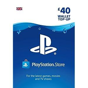 PlayStation PSN Card 40 GBP Wallet Top Up | PS5/PS4/PS3 | PSN Download Code – UK account