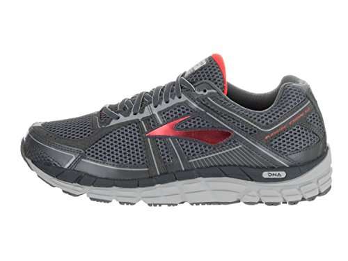 Brooks Addiction 12 -  para hombre Anthracite/High Risk Red/Silver