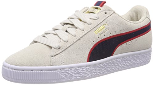 Mixte ribbon Vaporous 01 Stripes Gray peacoat Adulte Suede Sneakers Red Basses Puma Sport Beige Classic 6pYAzqwS