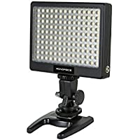 Monoprice 110570 140-LED Video Camcorder Light with 1000 Lumens Brightness and Adjustable Color Temperature