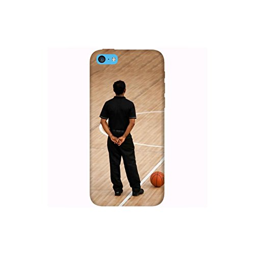 Coque Apple Iphone 5c - Homme en noir Basket