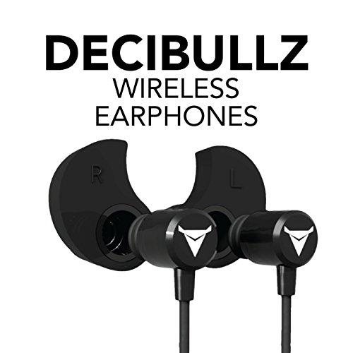 4d43dfcc6ec Decibullz - Custom-Fit Bluetooth Wireless Headphones, The First Custom  Molded Wireless/Bluetooth