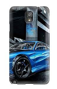 7745587K29844610 Perfect Tpu Case For Galaxy Note 3/ Anti-scratch Protector Case (street Race Car)