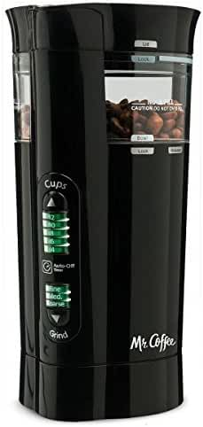 Mr. Coffee 12 Cup Electric Coffee Grinder with Multi Settings, IDS77