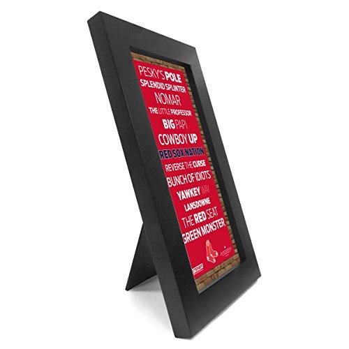 Boston Red Sox Desktop/wall Hangable Subway Sign 4 inch x 8 inch (Boston Red Sox Desktop)