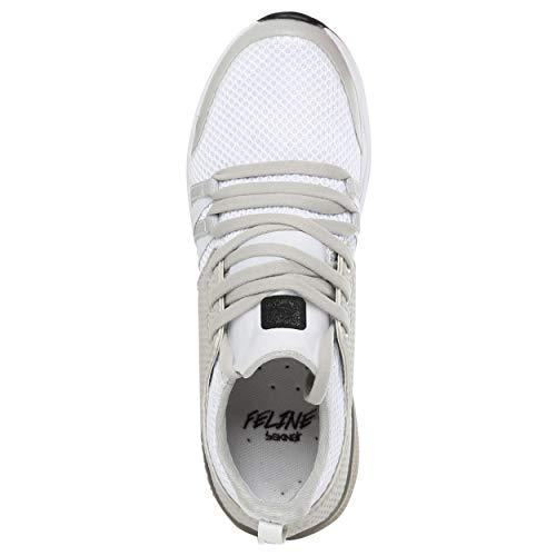 sportiva di e attiva felpa in Scarpa nera Skinair bianca Felina pTqdPnw