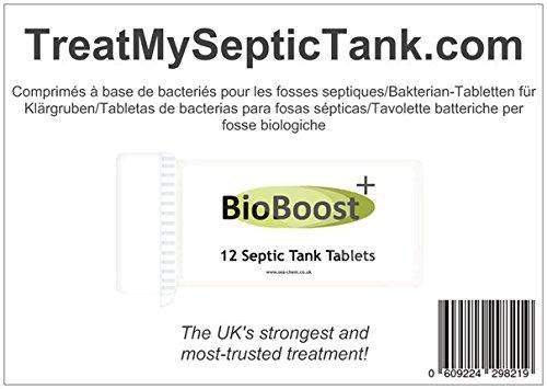 Tabletas de bacterias para fosas sépticas - Suministro para un año: Amazon.es: Hogar