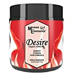 Mosea Elements All Natural Desire- A Fusion of Wild Harvested and Organic Tongkat Ali Horny Goat Weed Promotes Hormone Balance Increased Blood Flow Energy Mood And Libido For Men and Women