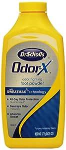 Dr. Scholl's Odor X All Day Deodorant Powder-6.25 oz.
