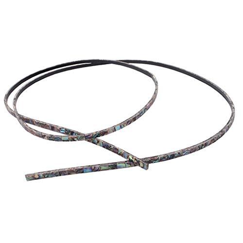 FidgetGear 800x3x1.5mm Binding Strips Shell Inlays for Mandolin Ukulele from FidgetGear