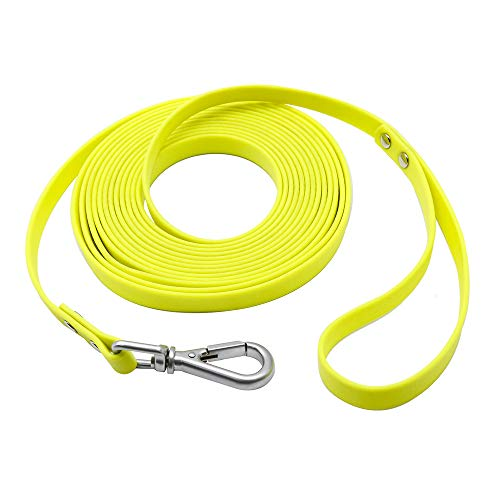 NIMBLE Waterproof Dog Leash Durable Dog Rope Reflective Great for Small Medium Large Dog 5ft 10ft 16ft 30ft 50ft Training Long Leash for Outdoor