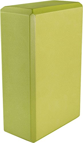 Yoga 3'' Foam Block (20-Pack), 3'' x 6'' x 9'', Green by MatsMatsMats.com