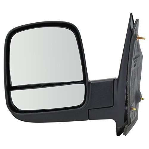 Side View Mirror Manual Driver Left LH for 08-13 Chevy Express GMC Savana Van