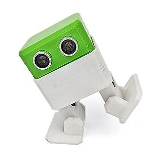 VIDOO Otto Arduino Nano Rc Robot Open Source Maker Ostacolo Evitamento 3D Playmate umanità Fai da Te Giocattoli-Verde