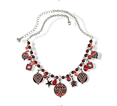 Yuriao Jewelry Fashion Unique Tribal Retro Necklace