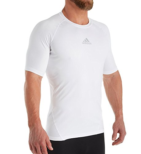 0b699a16b0 adidas Alphaskin Compression T-Shirt (842T) S/White for sale Delivered  anywhere