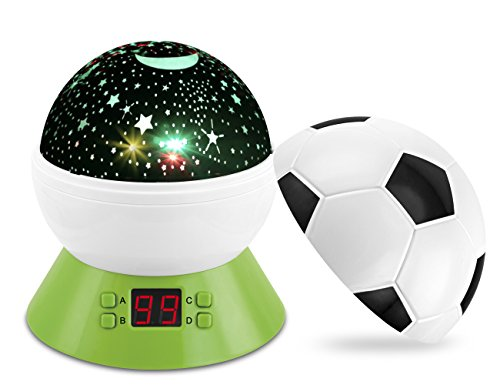 Star Night Light Projector, Rotating Star Projector Timer Auto Shut Off for Boy Toys Baby to Project The Mysterious Galaxy and Star Planetarium Space(Multiple Colors)
