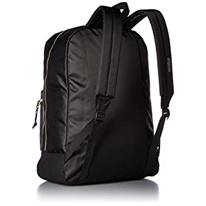 JanSport Super FX Series Backpack (Black / Gold)