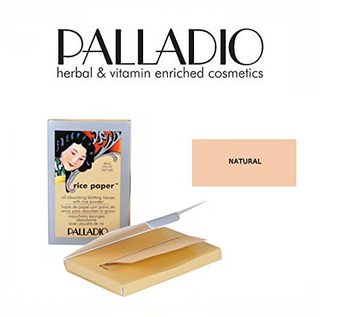 Amazon.com : 2 Pack Palladio Beauty Rice Paper RPA2