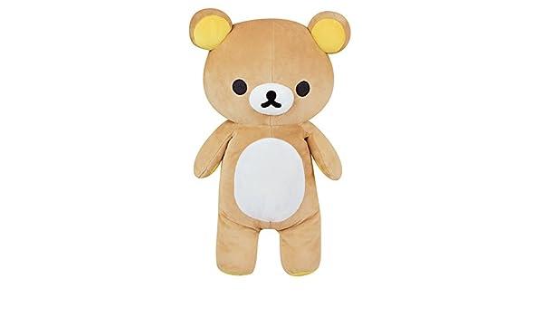 Amazon.com: Rilakkuma Plush Figure Rilakkuma 40 Cm Jemini Peluches: Toys & Games
