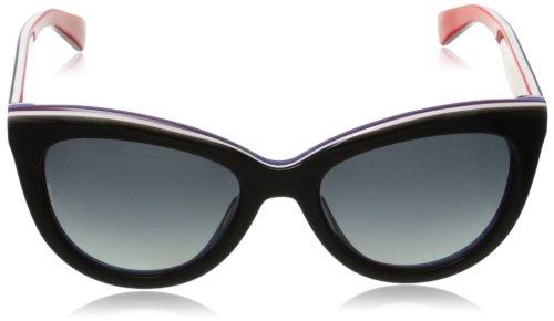 amazoncom dg dolce gabbana womens 0dg4207 cat eye polarized sunglassesblack on red55 mm clothing - Dolce And Gabbana Frames