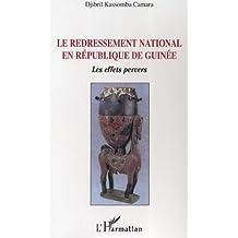 Redressement national en république de g