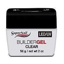 SuperNail LED/UV Builder Gel Clear 56g / 2oz by Super Nail