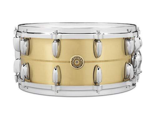 Gretsch Drums GRETSCH G4169BBR 14X6.5 BELL BRASS SNARE DRUM 14 x 6.5 in. Brass by Gretsch Drums