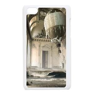 Bloomingbluerose Abandoned Ipod Touch 4 Cases Abandoned Building 2, Elegant Abandoned, {White}
