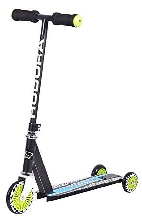 Hudora 22015 Scooter - Scooters (Niños, Negro)