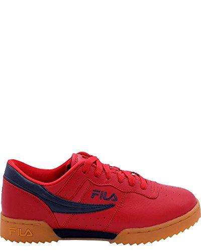 Fila Heren Originele Fitness Rimpeling Sneaker Rood / Navy