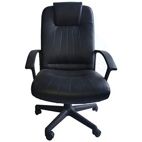 Sillón Ejecutivo para oficina y escritorio negra Pugl
