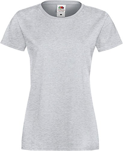Sofspun® - Camiseta de mujer extra suave Heather Grey