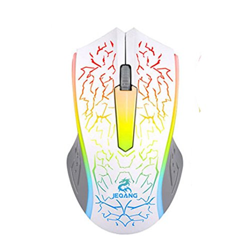 41tHhf4JyHL - Mokao-Optical-LED-Gaming-Mouse-Adjustable-DPI-2000DPI-2-Buttons-For-PC-Laptop-White