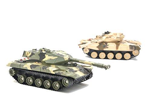 RC Panzer Battle 2er Set - Infrarot Kampfsystem - Gefechtssimulation ...