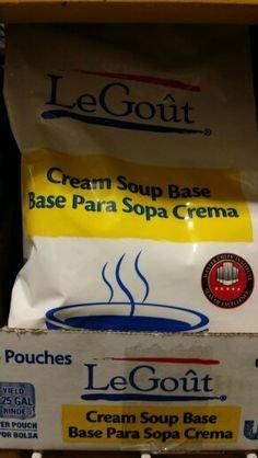 LeGout Cream Soup Base (6 Pack)