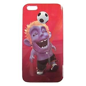 HC- Patrón de dibujos animados de fútbol nuevo caso para el iPhone 5