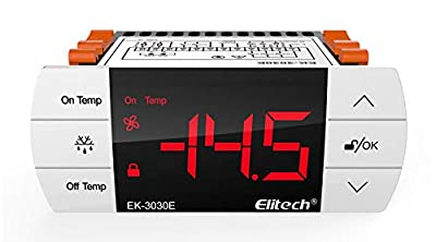 Elitech EK-3030E Temperature Controller Thermostat With Sensor For USA Canada 110V