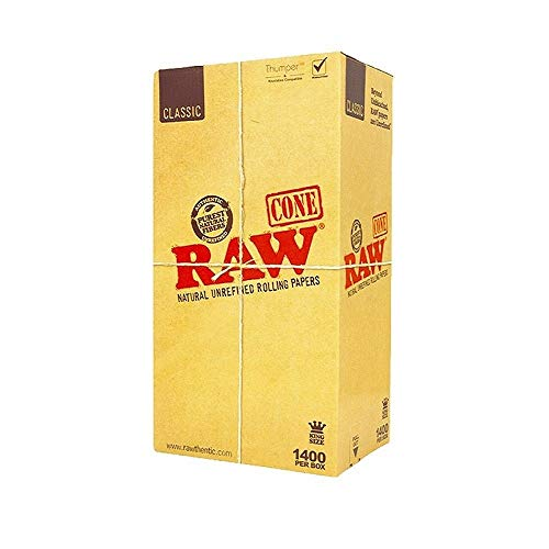 RAW Pre-Rolled Cone 1400 Pack (King Size)