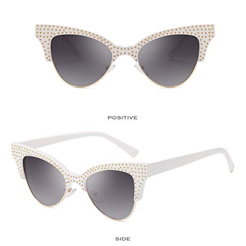 Gris Vintage Lhwy Yeux Contre lunettes Mode Radiations Lunettes De Soleil Rétro Femmes Protection Les UTFOUqg