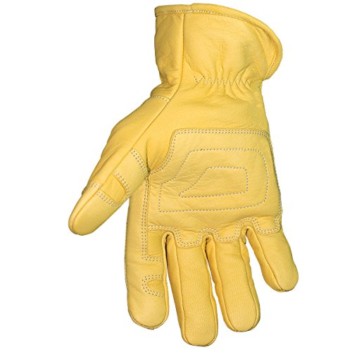 Youngstown Glove 12-3365-60-L FR Ground Glove Lined w/ Kevlar Performance Work Gloves, Large, Tan by Youngstown Glove Company (Image #1)