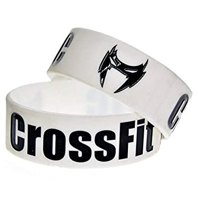 Relddd Silicone Bracelets With Sayings Crossfit Holic Rubber Wristbands For Men Encouragement Set Pieces Estimated Price £24.99 -