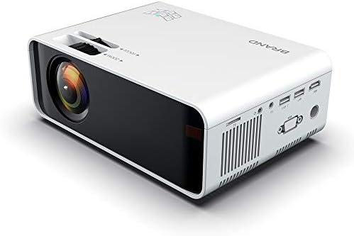KAIXIANG Pantalla Profesional de 1080P y 126 Mini proyector ...