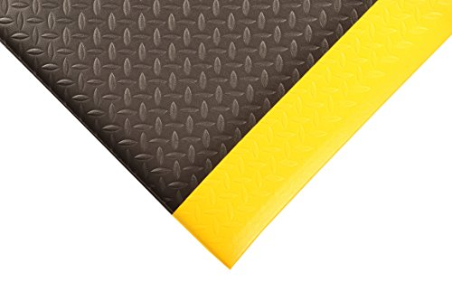 - NoTrax 419 Diamond Sof-Tred Safety/Anti-Fatigue Mat with Dyna-Shield PVC Sponge, for Dry Areas, 3' Width x 4' Length x 1/2