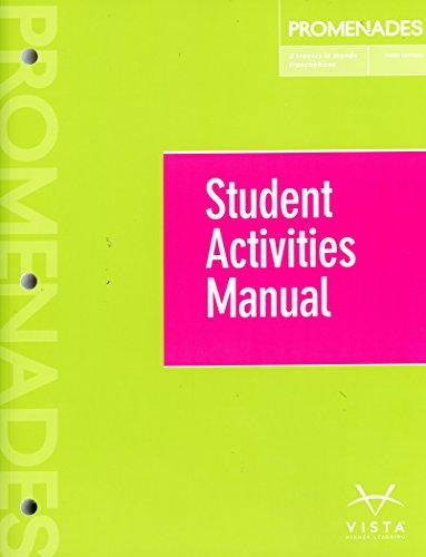 Promenades 3rd Student Manual - Third Promenade