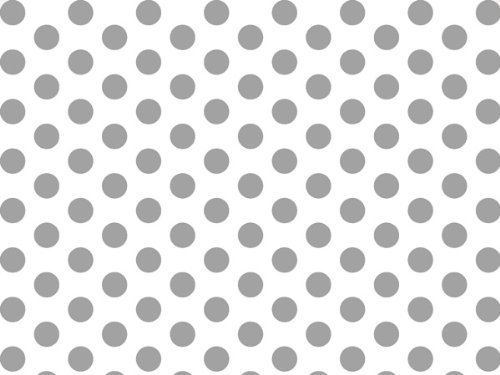 (Silver and White Polka Dots Tissue Paper 20 Inch X 30 Inch - 24 XL Sheets-Flexicore Packaging®)