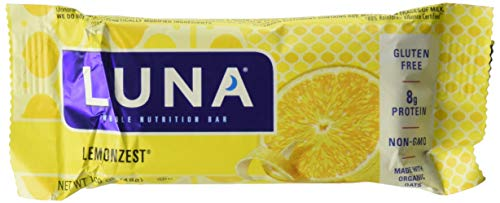 Clif Bar Luna BAR,OG3,Lemon Zest, 1.69 OZ