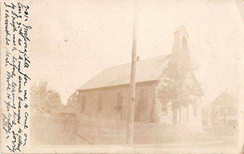 View Old Real Photo - Tullytown? Pennsylvania exterior view of an old church real photo pc Y3690